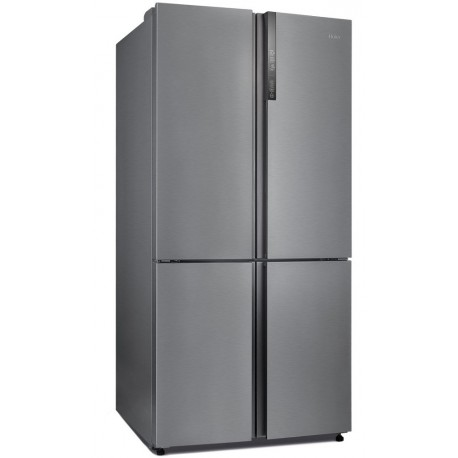 frigo us haier 4 portes a surain electro. Black Bedroom Furniture Sets. Home Design Ideas