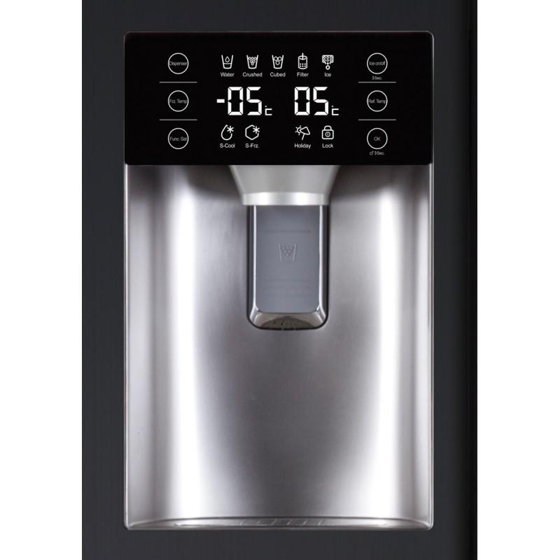 frigo us haier 550l a eau gla on neuf surain electro. Black Bedroom Furniture Sets. Home Design Ideas